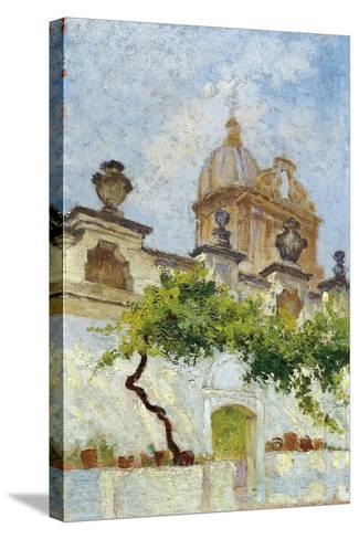 Baroque Church-Damaso Bianchi-Stretched Canvas Print