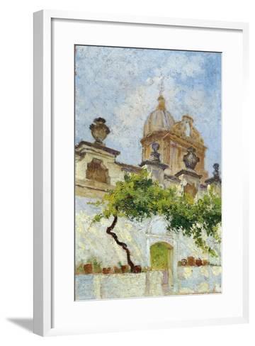 Baroque Church-Damaso Bianchi-Framed Art Print