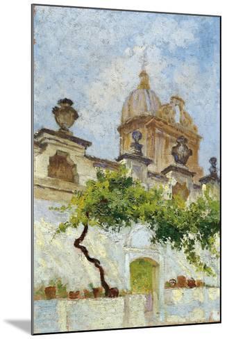 Baroque Church-Damaso Bianchi-Mounted Giclee Print