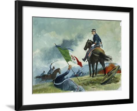 King Umberto from 'Heart'-Edmondo De Amicis-Framed Art Print