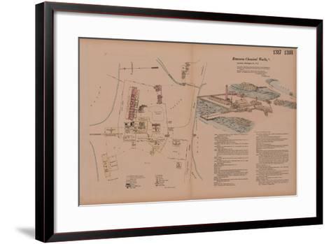 Volume 14, Rancocas Chemical Works, Hexamer General Surveys, Burlington, New Jersey, 1878-Ernest Hexamer-Framed Art Print