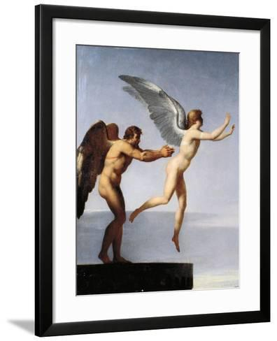 Daedalus and Icarus, 1799-Charles Paul Landon-Framed Art Print