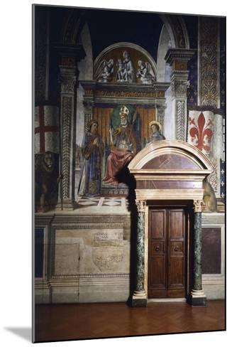Fresco Details-Domenico Ghirlandaio-Mounted Giclee Print