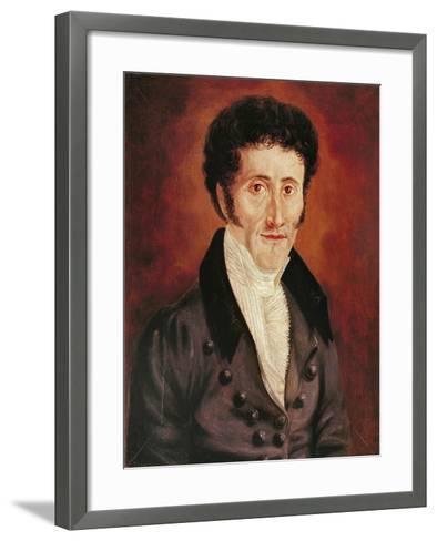Self Portrait, 19th Century-Ernst Theodor Amadeus Hoffmann-Framed Art Print