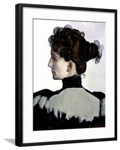 The Artist's Wife-Ferdinand Hodler-Framed Art Print