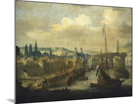 Port of Rouen, Ca 1620-Claude de Jongh-Mounted Giclee Print