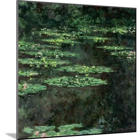 Waterlilies, 1904-Claude Monet-Mounted Giclee Print