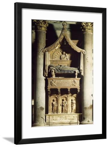 Antipope John XXIII's Tomb-Donatello-Framed Art Print