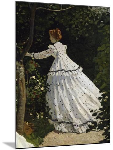 Women in the Garden, Detail-Claude Monet-Mounted Giclee Print