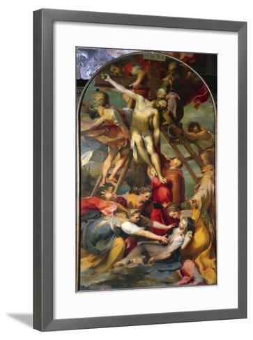 Deposition from the Cross, 1569-Federico Fiori Barocci-Framed Art Print