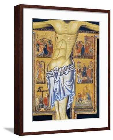 Crucifix-Coppo di Marcovaldo-Framed Art Print