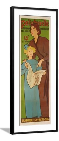 The Historian, 1902-Maurice Realier-Dumas-Framed Art Print