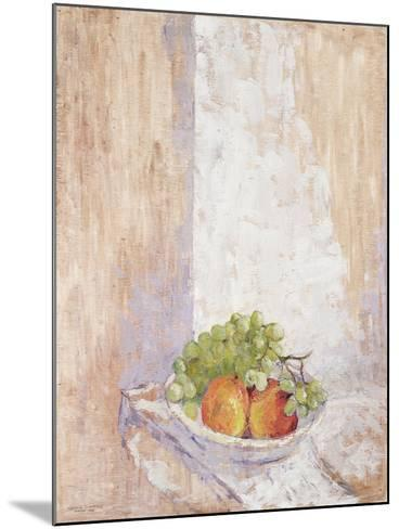Peaches and Grapes, 1993-Diana Schofield-Mounted Giclee Print