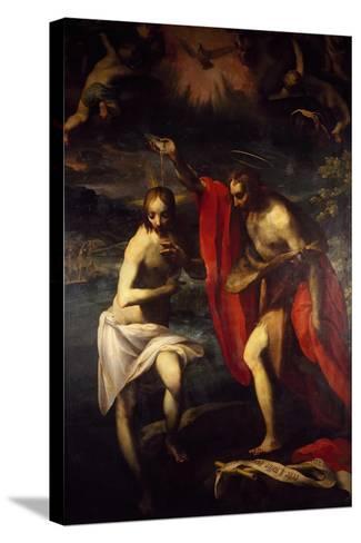 Baptism of Christ-Fancesco Curia-Stretched Canvas Print