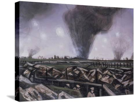 The Strafing, C.1914-Christopher Richard Wynne Nevinson-Stretched Canvas Print