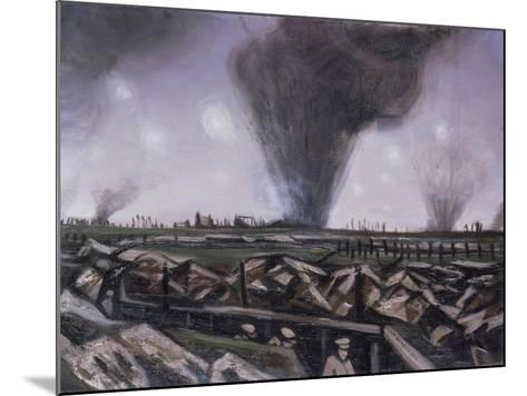 The Strafing, C.1914-Christopher Richard Wynne Nevinson-Mounted Giclee Print