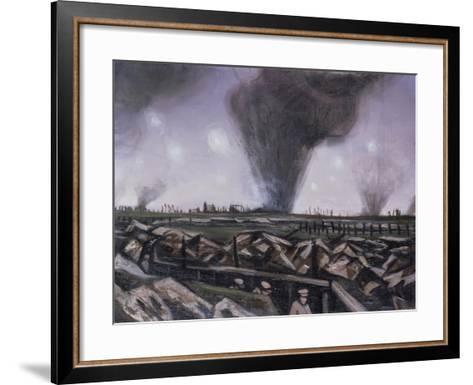 The Strafing, C.1914-Christopher Richard Wynne Nevinson-Framed Art Print