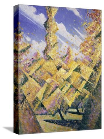 The Four Seasons: Autumn, C.1919-Christopher Richard Wynne Nevinson-Stretched Canvas Print