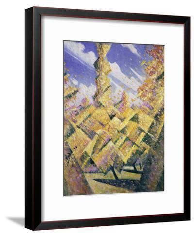 The Four Seasons: Autumn, C.1919-Christopher Richard Wynne Nevinson-Framed Art Print