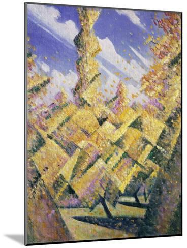 The Four Seasons: Autumn, C.1919-Christopher Richard Wynne Nevinson-Mounted Giclee Print