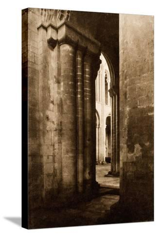 Ely Cathedral-Frederick Henry Evans-Stretched Canvas Print
