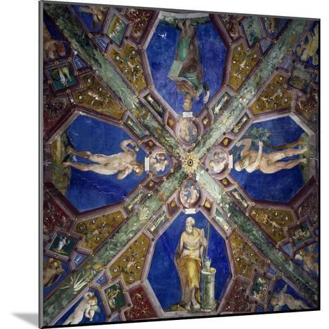 Frescoes from the Vault of the Chapel of the Assumption-Giovanni Da Spoleto-Mounted Giclee Print