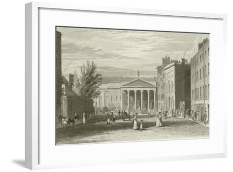 College Street-George Petrie-Framed Art Print