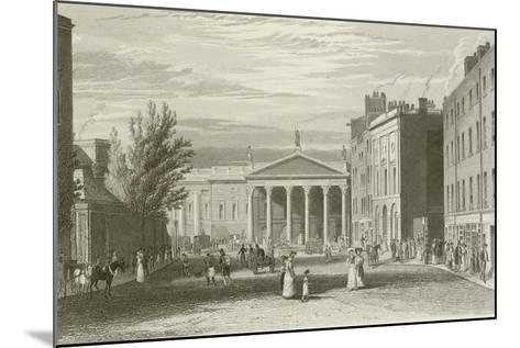 College Street-George Petrie-Mounted Giclee Print