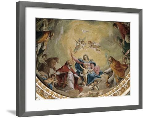 Virgin and Child with Saints, 1768-Giacomo Zampa-Framed Art Print