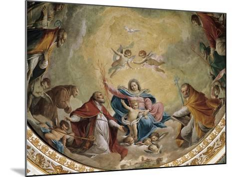 Virgin and Child with Saints, 1768-Giacomo Zampa-Mounted Giclee Print