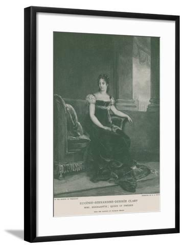 Eugenie-Bernardine-Desiree Clary-Francois Gerard-Framed Art Print