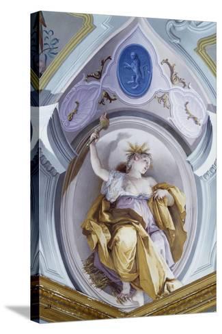 Summer-Giovanni Battista Crosato-Stretched Canvas Print