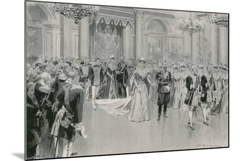 Court Ball-Frederic De Haenen-Mounted Giclee Print