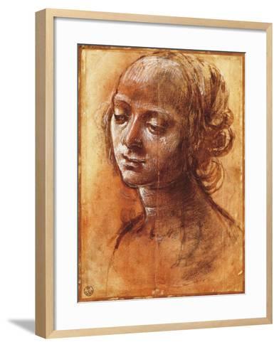 Womanly Figure-Filippino Lippi-Framed Art Print