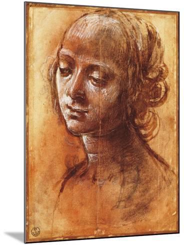 Womanly Figure-Filippino Lippi-Mounted Giclee Print
