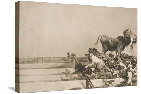 Desgracias Acaecidas En El Tendido De La Plaza De Madrid, Y Muerte Del Alcalde De Tor Rejon-Suzanne Valadon-Stretched Canvas Print