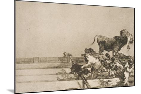 Desgracias Acaecidas En El Tendido De La Plaza De Madrid, Y Muerte Del Alcalde De Tor Rejon-Suzanne Valadon-Mounted Giclee Print