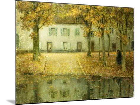 Little Place on the Banks of the Eau at Chartres; Petit Place Au Bord De L'Eau a Chartres, 1902-Henri Eugene Augustin Le Sidaner-Mounted Giclee Print