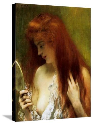 Girl with Red Hair-Henri Gervex-Stretched Canvas Print