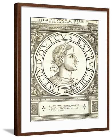 Ludouicus Balbus-Hans Rudolf Manuel Deutsch-Framed Art Print