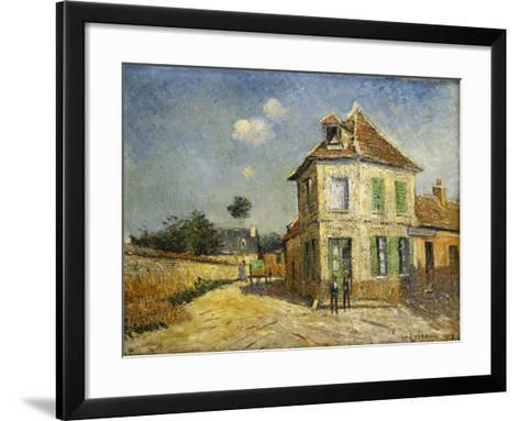St, 1917-Gustave Loiseau-Framed Art Print