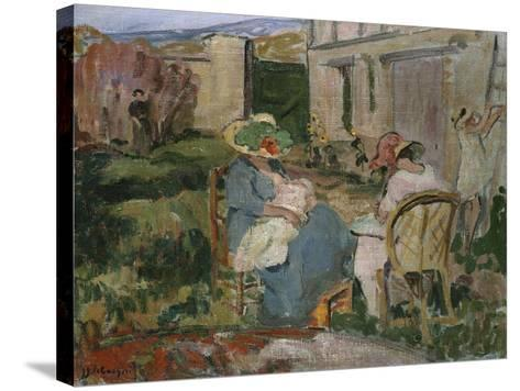 The Family-Henri Lebasque-Stretched Canvas Print