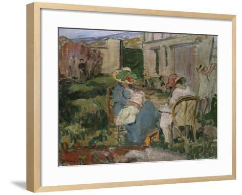 The Family-Henri Lebasque-Framed Art Print