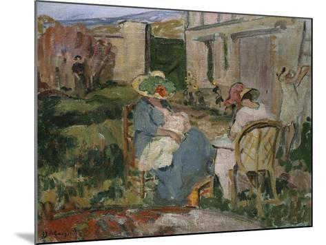 The Family-Henri Lebasque-Mounted Giclee Print