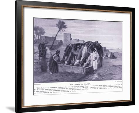 The Wells of Nahor-J.L. Jerome-Framed Art Print