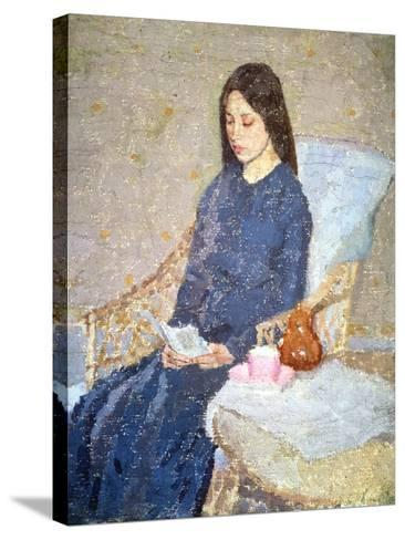 The Convalescent, C.1923-24-Gwen John-Stretched Canvas Print