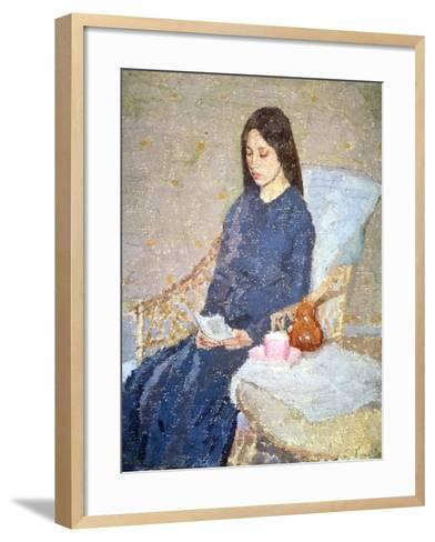 The Convalescent, C.1923-24-Gwen John-Framed Art Print