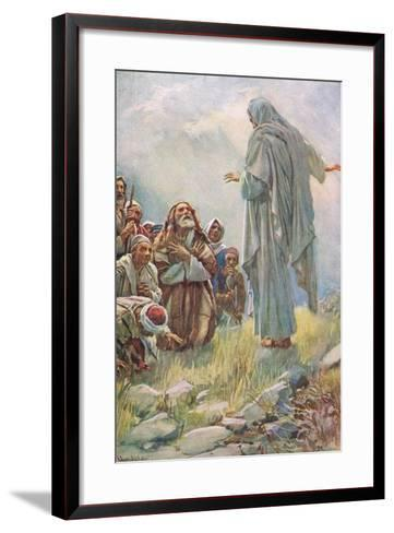 Teach All the Nations-Harold Copping-Framed Art Print