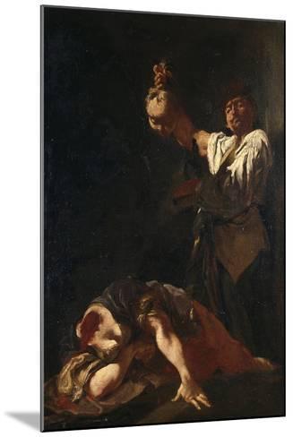 Martyrdom of Sant Eurosia-Giulia Lama-Mounted Giclee Print