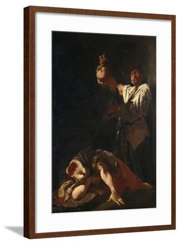 Martyrdom of Sant Eurosia-Giulia Lama-Framed Art Print